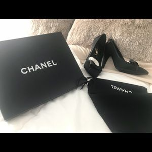 Chanel heels. Never worn